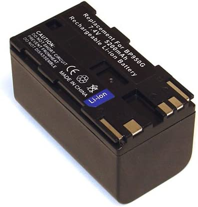 High Capacity Battery for Canon BP-950G XH A1 XH-A