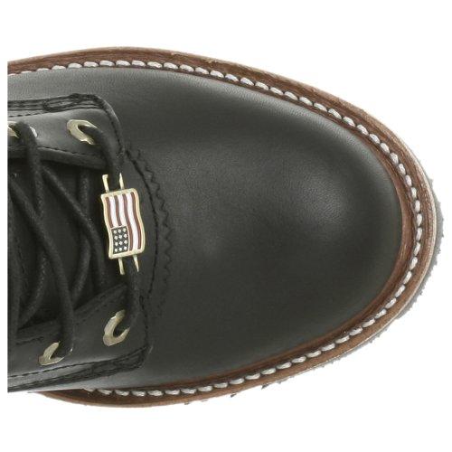 Logger Chippewa Oiled Boot Men's Black Super OZqBrEcZw