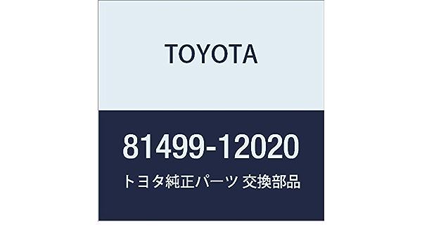 TOYOTA 81499-12020 Combination Lamp Gasket