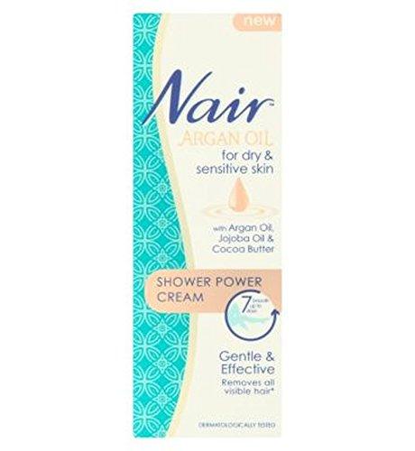 Nair Shower Power Cream With Argan Oil, Jojoba Oil & Cocoa Butter 200Ml - Pack of 2