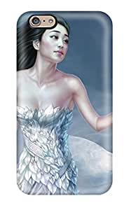 Durable Case For The Iphone 6- Eco-friendly Retail Packaging(cg Asian Girl)