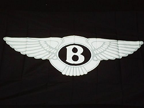 Bentley Logo Car Flag 3' X 5' Indoor Outdoor Deluxe Dealership Auto Banner