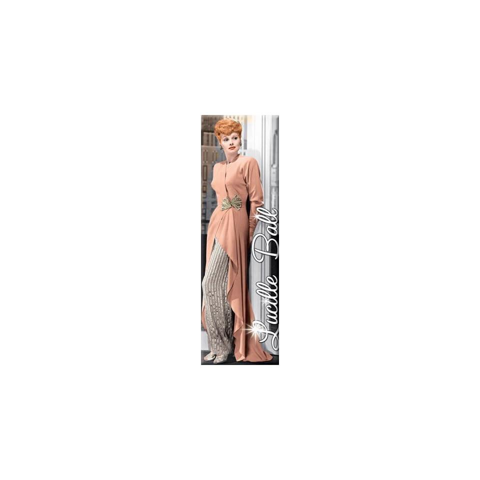 I Love Lucy Lucille Ball Peach Dress Magnet 60067LLU