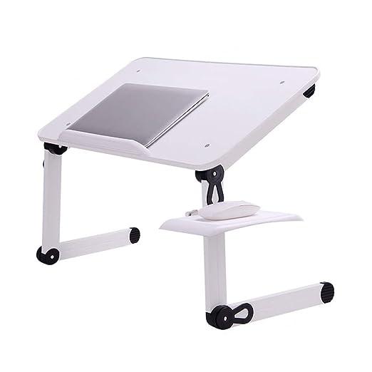 ZHAS Mesa Plegable y Soporte Ajustable para computadora portátil ...