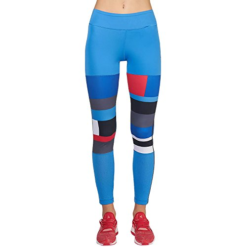 adidas Wow Women's Printed Tights - AW16 - Small - Blue