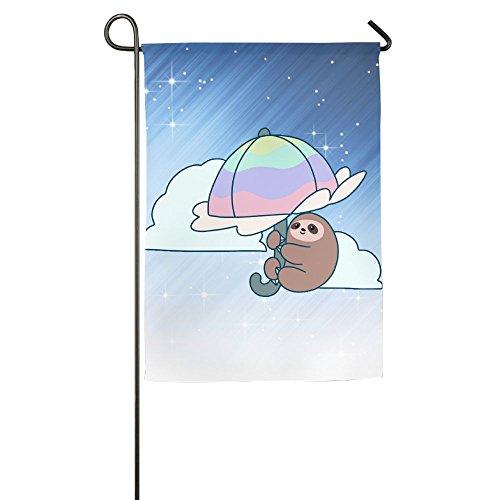 Weiheiwec 9 Umbrella Sloth Home Flag Garden Flag Demonstrations Flag Family Party Flag Match Flag (Seven Sons Umbrella)