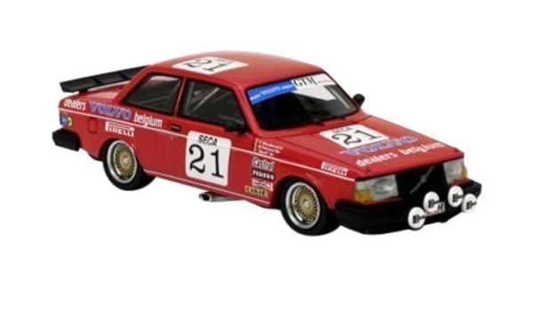 Amazon.com: NEO 1/43 Volvo 240 Turbo (1984) Team Delcourt ETCC # 21: Toys & Games