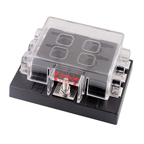 DC32V 6 Way Terminals Circuit Car Auto Blade Fuse Box Block Holder ATC ATO by Generic