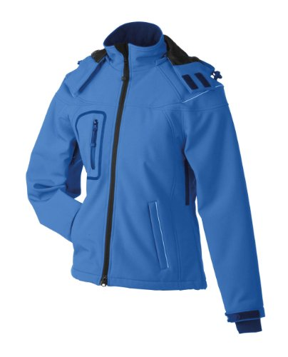 James & Nicholson, Damen, Winter Softshell Jacket S,Aqua