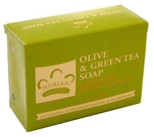 Nubian Heritage Bar Soap Olive Butter