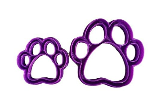 Dog Paw Cookie Cutter (1 Inch) ()