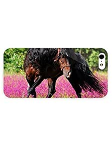 3d Full Wrap Case for iPhone 5/5s Animal Amazing Horse