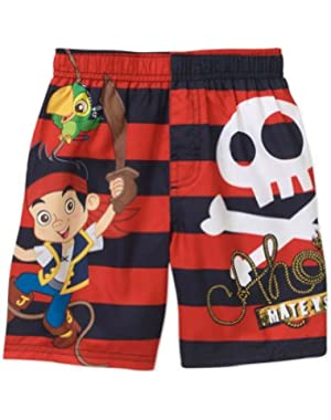 Jake and the Neverland Pirates Toddler Boys Swim Trunks 18m
