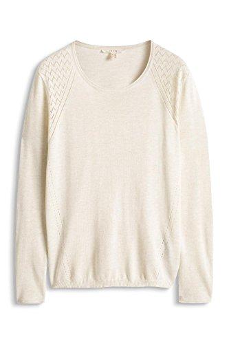 Esprit, Suéter para Mujer Beige (LIGHT BEIGE 5 294)
