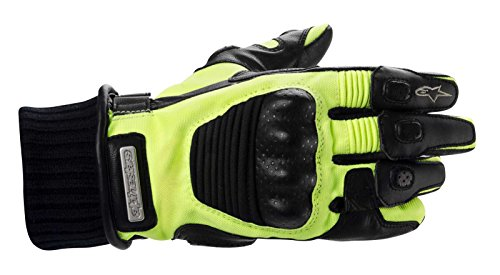 Alpinestars Arctic Drystar Men's Waterproof On-Road Motorcycle Gloves - Hi-Visibility / 2X-Large