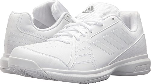 adidas Men's Approach Tennis Shoe, White/White/White, 10.5 M US