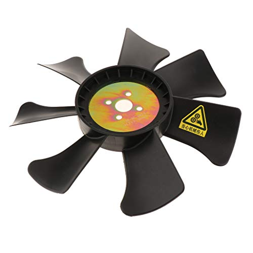 Almencla Engine Radiator Cooling Fan Blades Forklift Parts Accessories Low Energy Consumption: