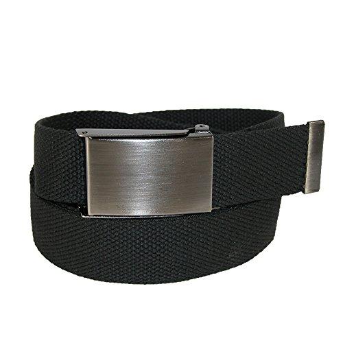 Money Belt Buckle (CTM Men's Web Money Belt with Military Buckle, Black)