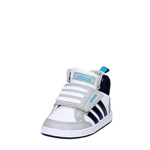 Adidas B74659 Zapatillas De Deporte Boy Cuero Sintético Blanco Bianco