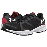 Under Armour Zone 2 Sneaker - black w red 1
