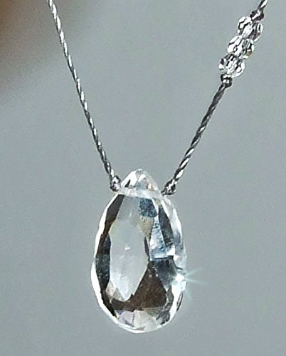 Quartz Briolette Necklace - 4