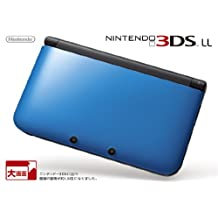 Nintendo 3DS LL Portable Video Game Console - Blue Black - Japanese Version (only plays Japanese version 3DS games)