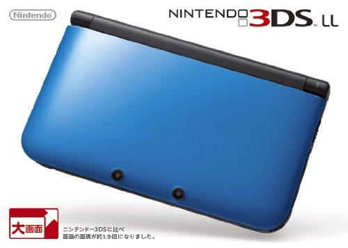 ニンテンドー3DSLL本体 ブルー×ブラック