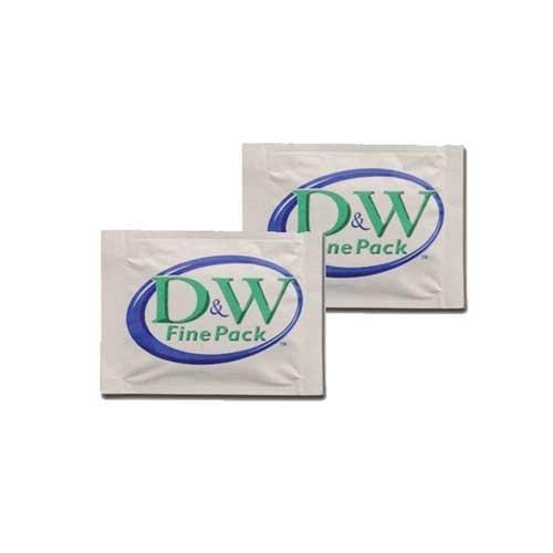 - D and W Fine Pack Towelette, Moist - 1000 per case.