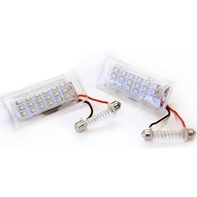 Handycop luces LED para matrícula BMW X5 E53/X3 E83 - homologadas: Amazon.es: Electrónica