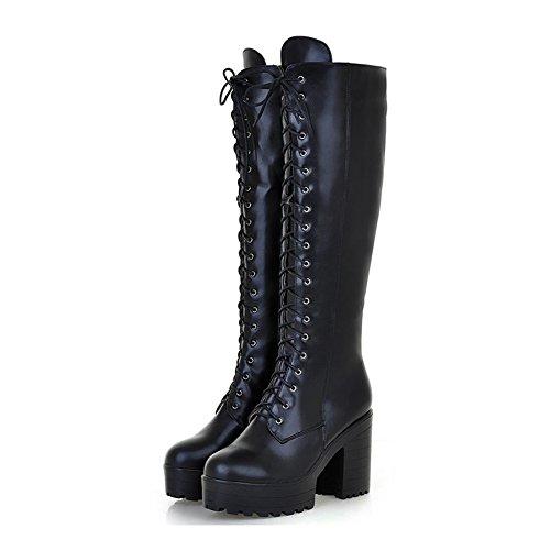 Knee High Boots Platform