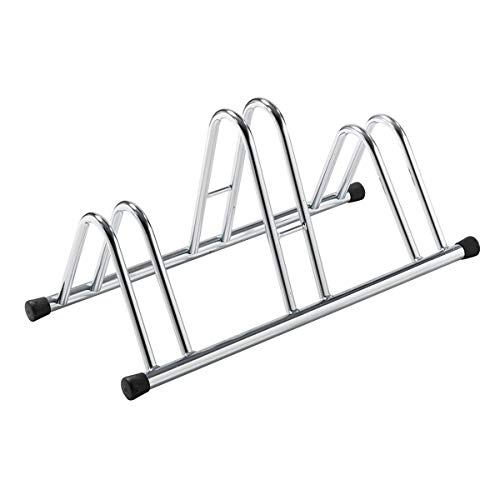 PDR A12308 Floor Bike Carrier for Parking Bicycles 3 Bike Seats: Amazon.co.uk: DIY & Tools