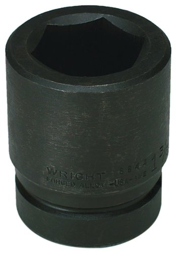 (Wright Tool 8892 2-7/8-Inch with 1-Inch Drive 6 Point Standard Impact Socket)