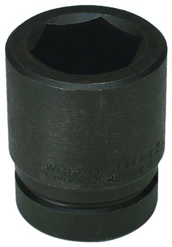 Wright Tool 88120 1'' Drive 6 Point Standard Impact Socket, 3-3/4''