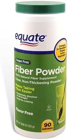 Equate Sugar-Free Fiber Powder - 90 Servings, 12.3 oz