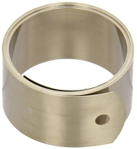 Constant Force Spring, 301 Stainless Steel, Inch, 25000 Cycle Life, 45