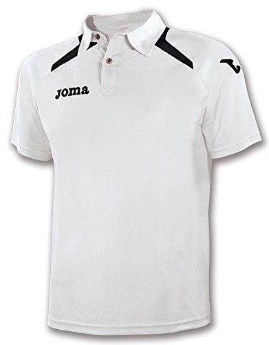 JOMA CHAMPION WHITE-BLACK POLO 0
