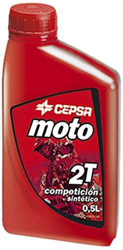 CEPSA Moto 2T sint Competicion sintético Aceite para motores de scooters 0,5 L: Amazon.es: Coche y moto