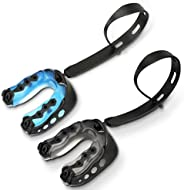 Number-one 2 Pack Soft Mouth Guard with Strap, Professional Sports Mouthguard for Boxing, Jujitsu, MMA, Footba