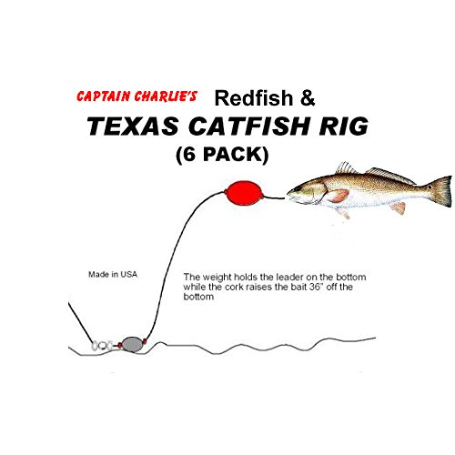 Captain Charlie's Redfish and Texas Catfish Rig 6 Pack