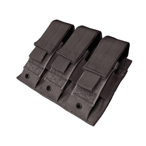 Condor MA52 Triple Pistol Mag Pouch (Black)