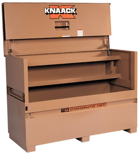 Knaack 90  Storagemaster Jobsite Storage Chest wtih Large Dual Folding Doors