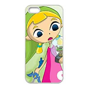 Aryll 004 caja del teléfono celular del iPhone 5 5s funda blanca del teléfono celular Funda Cubierta EOKXLKNBC08446