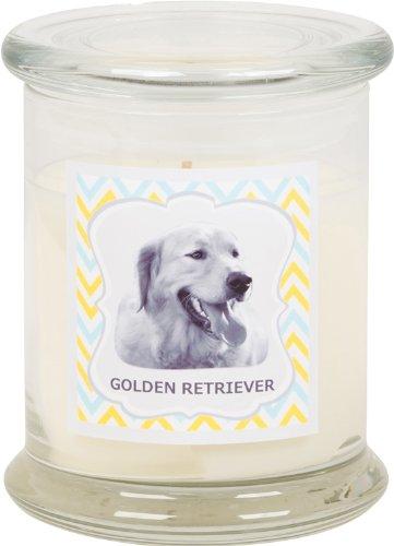 Aroma Paws Breed Candle Jar, 12-Ounce, Golden Retriever - Golden Retriever Paws