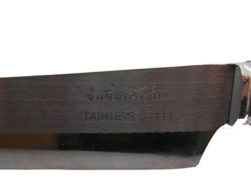 1PC Steak Knife Kitchen Knives Thai Knife Chef Fruit VEGETABLE Stainless Steel Handmade by Mr_air_thai_knife