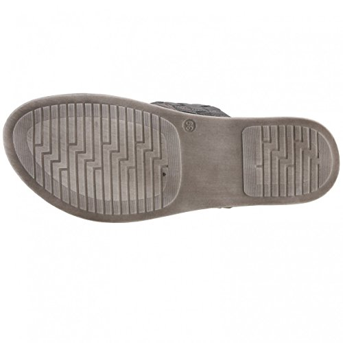 Tamaris 1-1-27220-38/915 915 - Zuecos de Piel para mujer gris Grau (PEWTER 915)