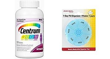 Las mujeres de Centrum tableta de Multivitamin / Multimineral suplemento, vitamina D3 (200 cuenta