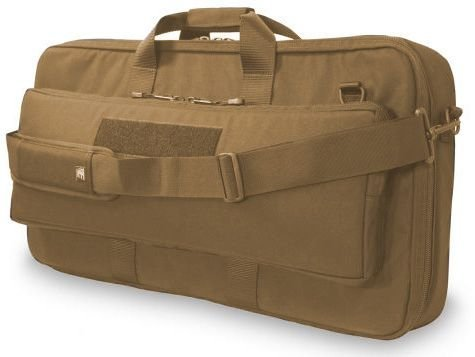 Elite Survival Systems ELSCOC33-T Covert Operations Discreet Ar15 M16 M4 W/Collapsible Stock Rifle Case, Coyote Tan, (M16 Collapsible)