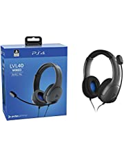 PDP Gaming LVL40 Wired Stereo Headset - PlayStation 4, 051-108 - PlayStation 4