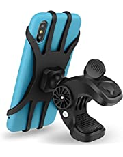 Arespark Bike Phone Mount, Adjustable 360° Rotation Silicone Bicycle Phone Holder, Universal Motorcycle Handlebar Mount
