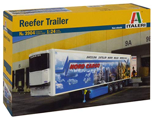 Photo Italeri 3904S 1/24 Reefer Trailer